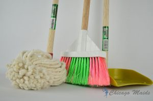 Mop, broom